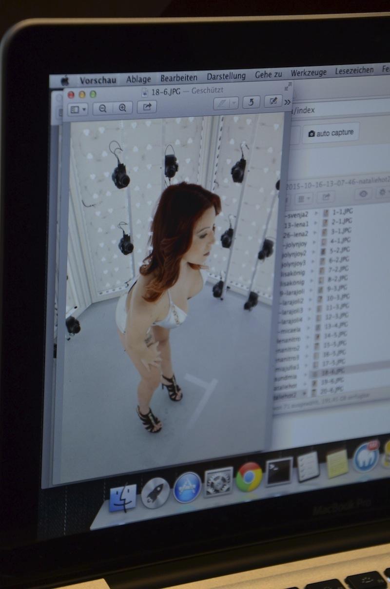 3D Bildbearbeitung am Rechner