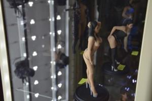3D Figuren Pornostars Präsentation