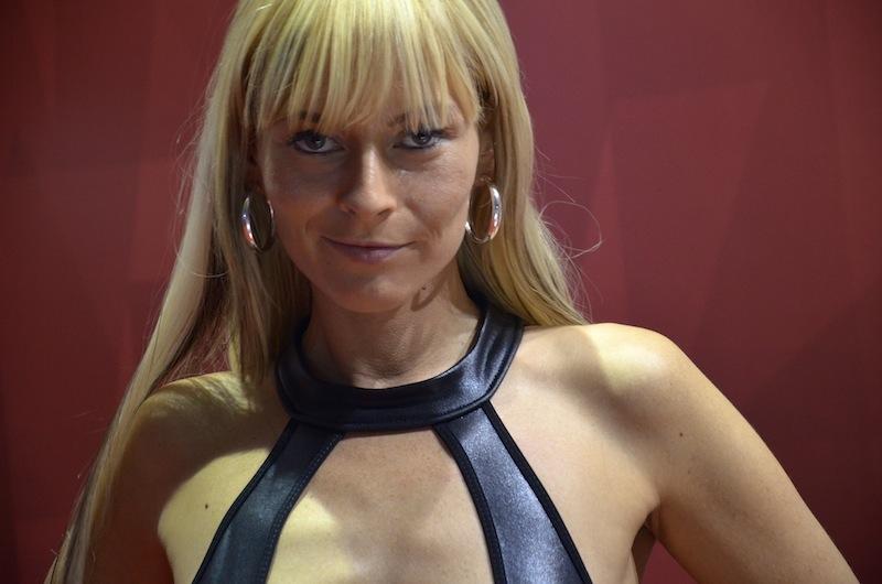 Blondine Portrait auf Venus