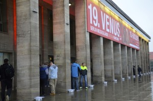Eingang der Venus Messe in Berlin