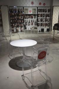 Möbelverkauf Venus Sessel Tisch