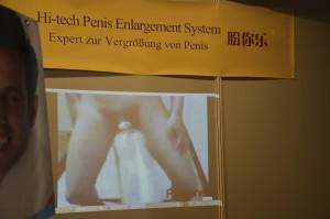 Penis Enlargement System Werbung für Penisvergrößerungspumpe