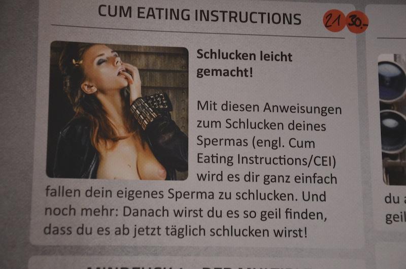 Anleitung schlucken leicht gemacht
