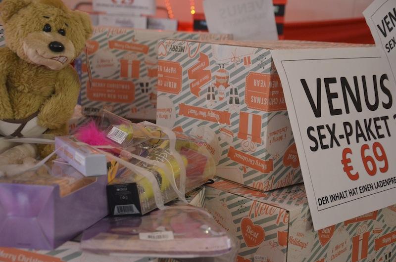 Geschenk Sex Paket auf der Venus