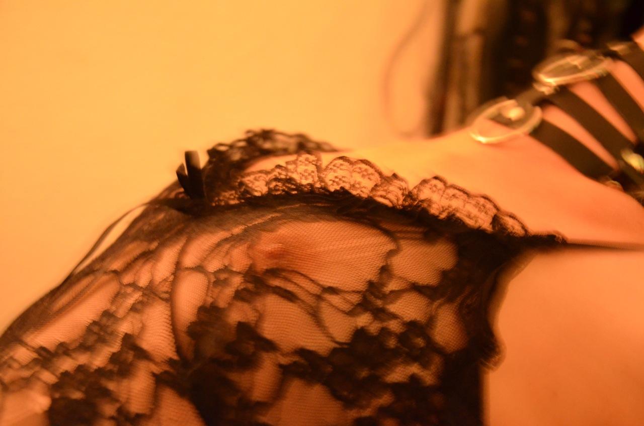 Sexy durchsichtige Lingerie